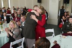 301 (Texas A&M Foundation) Tags: horizontal hugging hug crowd corps coupleshot corpsofcadets eoaluncheon endowedopportunityaward specialtiesphotography 2016eoaluncheon