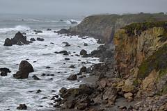 _DSC1004-sonoma-coast-f (posyche) Tags: ocean water rock rocks waves sonoma shoreline cliffs hills highway1 sonomacoast ca1
