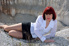 DCS_0040 (dmitriy1968) Tags: portrait cliff nature girl beautiful erotic outdoor wife quarry    sexsual