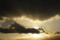 Sun behind cloud (nudelbach) Tags: light sky cloud sun clouds licht himmel wolke wolken sonne sonnenstrahlen sunbeams