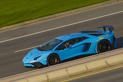 Lamborghini Aventador Superveloce LP750-4 (80sChiyuld) Tags: blue car canon italian automobile transport automotive vehicle lamborghini supercar doha santagata superveloce aventador carsofqatar aventadorsupervelocelp7504