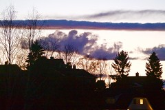 Oslohimmel p Hyenhall (jonarnefoss2013) Tags: oslo norway sunser solnedgang nikon1