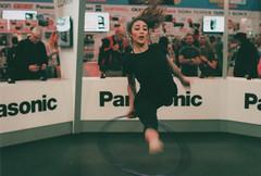 UK Photography Show 2016 (The6millionpman) Tags: film analog jump movement expo olympus gymnastics analogue agfa olympusom1 filmphotography analoguephotography
