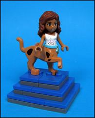 A Friendly Caninataur (Karf Oohlu) Tags: friends lego scoobydoo moc halfhuman halfdog friendsminifig