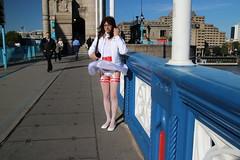 LONDON_010566 (Kira Dede, please comment my photos.) Tags: london stockings lingerie upskirt crossdresser 2015 kirad kiradede