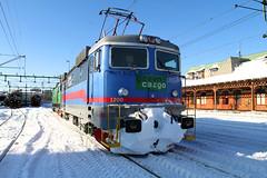 RC4 1200, Karlstad 2010-02-23 (Michael Erhardsson) Tags: green station vinter sweden c ks cargo karlstad sverige 2010 februari lok tg jrnvg
