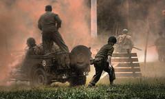 smoke (jjdraft) Tags: textures soldiers ww2reenactment