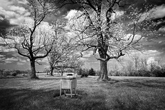 Monochrome Washer II (Notley) Tags: blackandwhite usa monochrome field rural america landscape midwest antique farm washingmachine washer bucolic 10thavenue midamerica harrisburgmissouri americanlandscape notley ruralphotography boonecountymissouri notleyhawkins missouriphotography httpwwwnotleyhawkinscom notleyhawkinsphotography