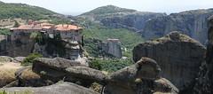 Meteora (maria xenou - photodromos) Tags: history landscape unesco greece griechenland kloster weltkulturerbe meteora monasteries
