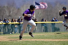 America's pastime (stephencharlesjames) Tags: college sports america vermont baseball action flag run victory middlebury ncaa amherst score pastime