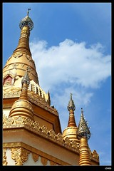 DP1U7129 (c0466art) Tags: trip travel blue light sky cloud tower water beautiful festival canon temple golden scenery bright buddha chinese spill 2016 1dx c0466art