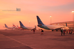 IMG_2813 (suryahardhiyana) Tags: sunrise airport airasia juanda