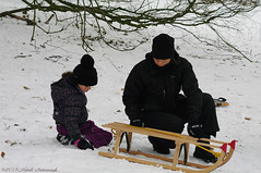 Winter (Natali Antonovich) Tags: christmas family winter portrait snow religious frost belgium belgique belgie lifestyle tradition motherhood sled motherandson sleding sledging lahulpe christmasholidays