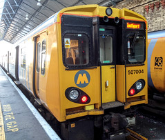 507004,Southport,9.7.14 (Mike stanners) Tags: train railway trainstation emu southport merseyrail mikestanners