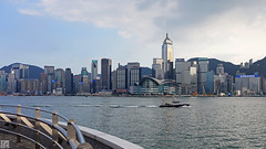 Hong Kong Harbor 037A8520 (lycheng99) Tags: china sunset panorama building water skyline buildings hongkong harbor asia harbour  victoriaharbour victoriaharbor hongkongharbour panoramicview hongkongharbor hongkongskyline