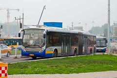 """[Buses in Beijing] Changjiang Iveco CJ6180GCH """"EuroRider"""" BPT #B94035 Line BRT-1 at the Temple of Heaven (tonyluan1990) Tags: beijing  publictransport brt iveco bendybus  neoplan busrapidtransit  lowfloor articulatedbus   thetempleofheaven  centroliner  eurorider cj6180gch jnp6180g beijingpublictransportholdingsltd lowentry    bisectionbus cbciveco     youngmanneoplan beijingpublictransport"""