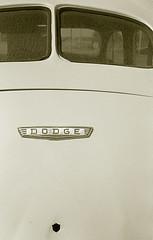 Dodge Trunk (Neil Kesterson) Tags: film sedan 35mm bluegrass lexington kentucky dodge delta100 ilford yashica filmscan electro35 plustek electro35ccn silverfastai