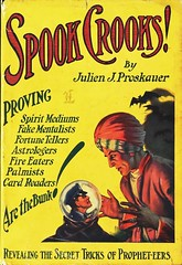 """Spook Crooks"" by Julien J. Proskauer.  NY: A.L. Burt, (1932) (lhboudreau) Tags: illustration 1932 book fake illustrations books tricks trick turban trickster secrets policeman crook fortunetellers bookart fakes crystalball hardcover palmistry spook hocuspocus crooks mediums tricksters dustjacket mentalists spooks vintagebook vintagebooks fireeaters jacketart astrologers proskauer alburt hardcovers cardreaders hardcoverbooks thebunk hardcoverbook vintagehardcoverbook palmists spiritmediums dustjacketart vintagehardcoverbooks spookcrooks julienproskauer julienjproskauer fakementalists propheteers"
