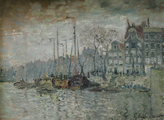Claude Monet - View on the Prins Hendrikkade and the Kromme Waal in Amsterdam, 1874 at Van Gogh Museum Amsterdam Netherlands (mbell1975) Tags: holland netherlands amsterdam museum painting french gallery museu view fine arts muse musee monet impressionism claude museo nl hendrikkade van gogh impression impressionist muzeum noordholland niederlande prins waal finearts nederlanden beaux beauxarts mze kromme gallerie 1874 musum niederland
