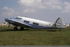 N250D - Howard 250 - Opa Locka - Nov-79 (THE Graf Zeppelin) Tags: florida lockheed kopf lodestar opf opalocka howard250 n250d 19791100
