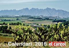 """Portada amb una foto meva al Calendari del Setmanari Penedesencs """"El Cargol"""" 2016 i ms fotos a l'interior (MARIA ROSA FERRE) Tags: del al foto fotos una portada calendari amb 2016 meva ms elcargol linterior setmanari penedesencs"""