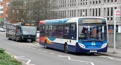 The 94 & the 194 (bobsmithgl100) Tags: bus surrey alexander dennis versa 414 dcd camberley route94 optare evn fxb 36014 enviro200 gx07 414dcd route194 pembrokebroadway gx07fxb stagecoachhantssurrey courtneybuses yj65 yj65evn