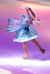 Elsa - Disney On Ice- 100 Years Of Magic -At Wells Fargo Center Philadelphia PA 12-27-15 (MelenaMe) Tags: show cold ice lights frozen dance dancing character iceskating skating event twirl elsa disneyonice