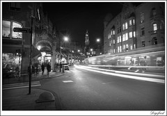 Amsterdam at night. (Digifred. Thx for > 3 000 000 views.) Tags: street city blackandwhite holland netherlands amsterdam night blackwhite iamsterdam nederland streetphotography canals grachten straat 2015 digifred