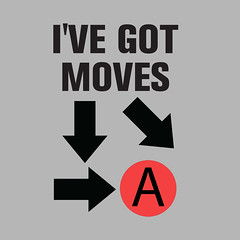 I've got moves (biotwist) Tags: typography geek humor arcade gaming parody streetfighter combos hadouken