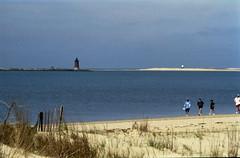 lighthouse at cape henlopen delaware (bluebird87) Tags: film nikon kodak cape epson 100 delaware v600 n80 henlopen ektar c41 dx0