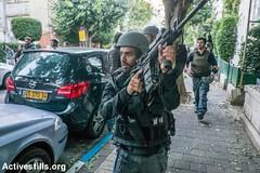 Shooting attack, Tel Aviv, Israel, 1.1.2016 (Activestills) Tags: death israel telaviv attack police violence weapons borderpolice topimages yotamronen palestinians48