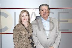 DSC_3438.- Olga Laura González de Olivares y Marcos Olivares.