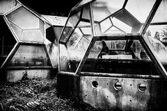 The colony (Sascha Faber) Tags: bw abandoned contrast silver germany 50mm rust decay 28mm urbanexploration nik rotten exploration derelict urbex missiontomars efex canoneos6d