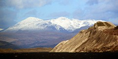 More snow on the Lakeland Fells (billnbenj) Tags: snow lakedistrict cumbria barrow hightide lakelandfells walneyisland walneychannel slagbank