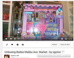 New unboxing video on my You Tube Channel (egolon) Tags: market barbie malibu ave