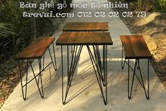Bn gh g t nhin chn st9726 (Trevui.com) Tags: design cafe ni ngoi n lm ang qun g bch bn tht mc thit k gh