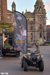 Yamaha 450 Grizzly Glasgow 2016 (seifracing) Tags: cars army scotland traffic glasgow transport scottish voiture vehicles yamaha british grizzly 450 spotting services strathclyde armed 2016 seifracing
