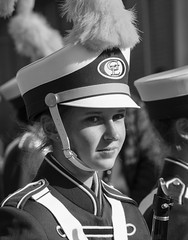 D7K_0311_ep_gs (Eric.Parker) Tags: santa november school bw music toronto drums costume uniform bell military band disney parade instrument marching christie claus musicalinstrument float bloor sousaphone santaclausparade 2015