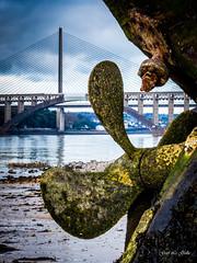 pave  Plougastel (gael.lg29) Tags: pont bateau hlice iroise plougastel louppe