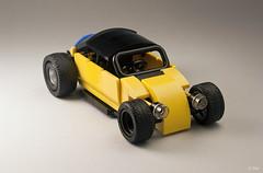 Ctrico de Mxico _03 (_Tiler) Tags: hot car sport vw race racecar volkswagen lego vehicle rod autoracing volksrod