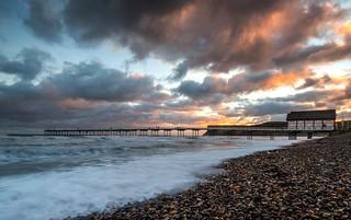 Coast to coast on Valentine's Day.Saltburn Sunrise