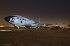 KC-135 Strato Tanker (PhantomPhan1974 Photography) Tags: lightpainting night kc135 rf4c marcharb marchfieldairmuseum