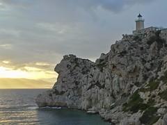 Cape Hireon (3). (Christos Andreou) Tags: greece cape coastline seaview loutraki corinthia beautifulworld seasunset rockyformations cloudylandscape capehraion