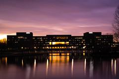 Take 2 (belknet) Tags: longexposure sunset sky water flickr huntsville outdoor dusk alabama 100v10f adtran 2016