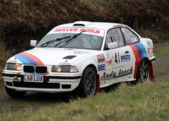 BMW M3 (DaveWilcock) Tags: west rally north stages bmw m3 fleetwood northweststagesrally2016