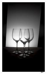 Trois verres (gravelin.yves) Tags: nikon transparence verre naturemorte d810