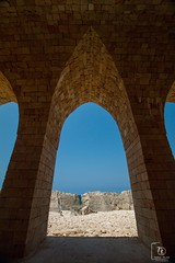 Ancient Phoenician wall, Batroun (Nabiha Hajaig) Tags: old sea lebanon history beirut batroun ancientphoenician