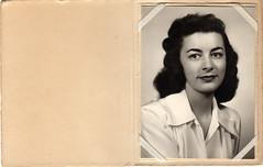 Jocelyn Mary Jago circa 1949 (avatarsound) Tags: family portrait woman minnesota minneapolis jago