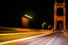 infinity divided (pbo31) Tags: sanfrancisco california bridge winter orange motion black color night nikon traffic infinity 101 goldengatebridge lane rig bayarea february divided 2016 lightstream boury pbo31 d810
