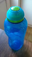 Water bottle (Graham Dash) Tags: blue waterbottle watercontainer cf16